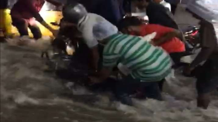 India Tv - Hyderabad, Heavy rains