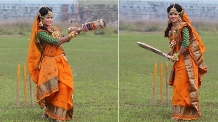 Bangladesh woman cricketer Sanjida