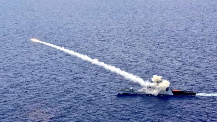 India Tv - Indian Navy, anti ship missile
