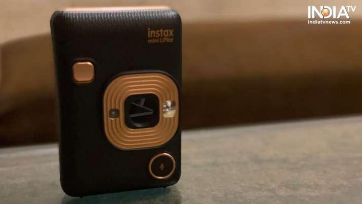 India Tv - fujifilm, fujilim instant cameras, fujilm instax range, fujiflim instax mini liplay instant hybrid c