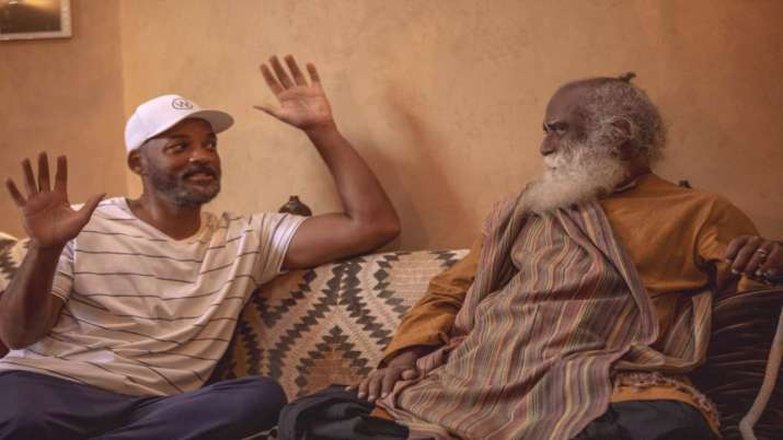 Sadhguru meets Will Smith and shares glimpse of their rendezvous. See Pics