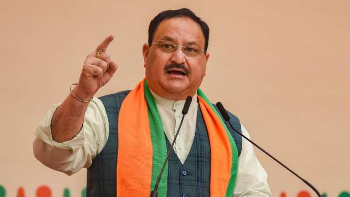 JP Nadda says Rahul Gandhi behind Punjab farmers protest