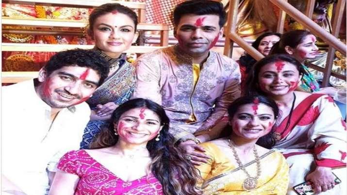 Durga Puja 2020: Karan Johar to Kajol, throwback to Bollywood's Sindoor Khela
