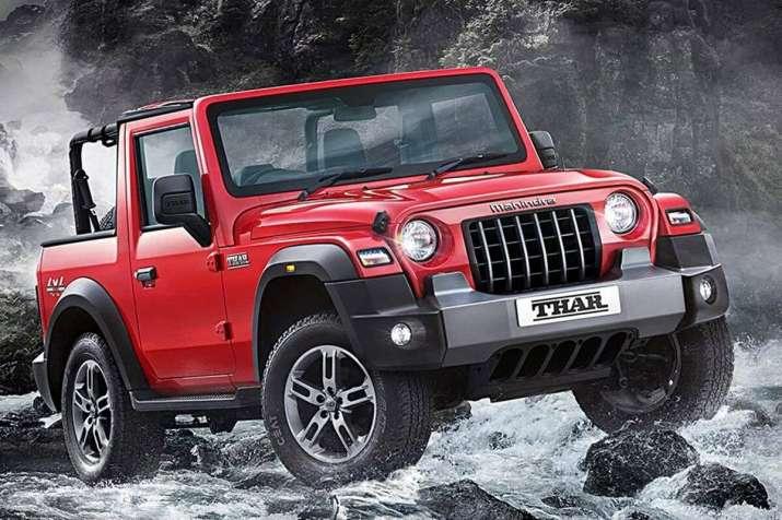 Mahindra drives in new Thar, price starts at Rs 9.8 lakh ...