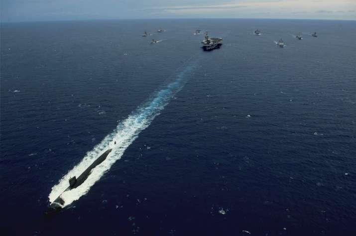 Malabar Exercise 2020, Indian Navy, Quad