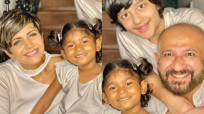 Mandira Bedi adopts 4-year-old girl, introduces her daughter as Tara Bedi Kaushal