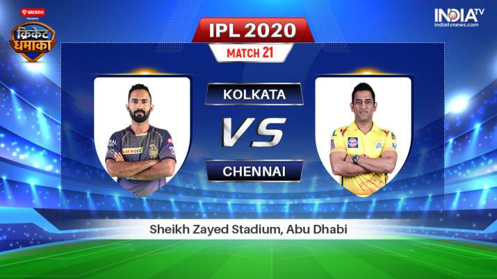 Live IPL Streaming KKR vs CSK: Watch IPL 2020 live match on Hotstar, Star Sports and Jio TV