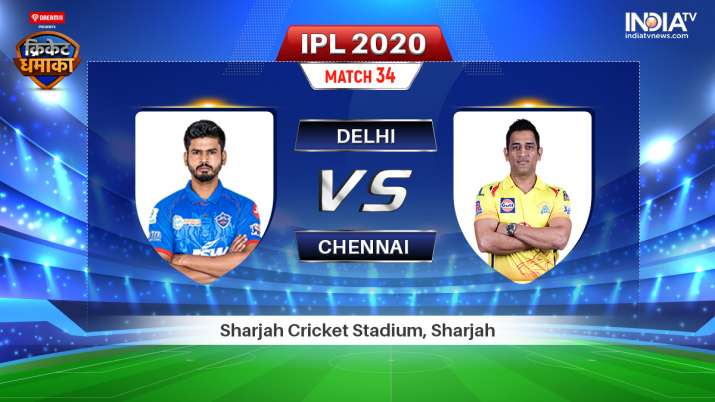 IPL Streaming DC vs CSK: Live Match How to Watch IPL 2020