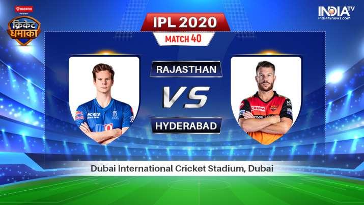 Live IPL Match RR vs SRH Stream: Live Match How to watch IPL 2020 live on Hotstar, Star Sports & Jio