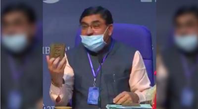 Vallabhbhai Kathiria, the chairman of Rashtriya Kamdhenu