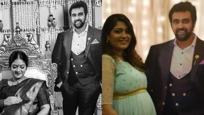 Meghana Raj's baby shower photos featuring late Chiranjeevi Sarja will bring a smile on your face