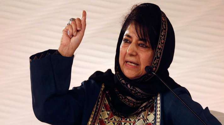 Mehbooba Mufti says will continue struggle for restoration