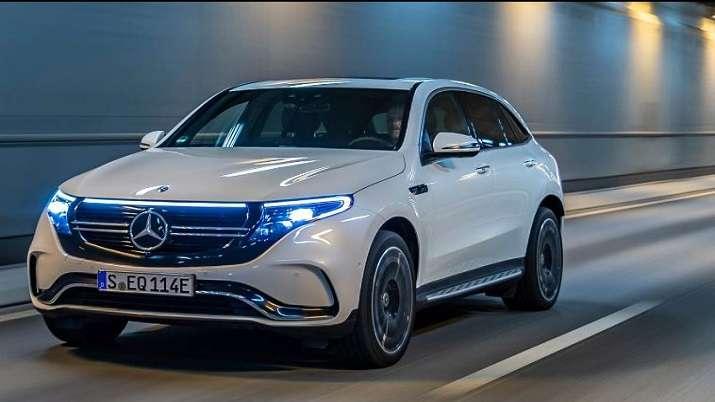 Mercedes-Benz EQC electric SUV