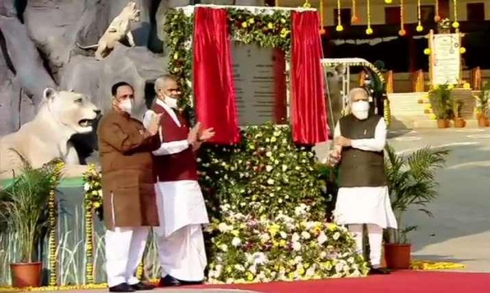 Modi inaugurates Gujarat's 'nutrition park'