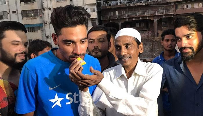 File photo of Mohammed Siraj with father Mohammed Ghaus