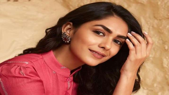 Actress Mrunal Thakur
