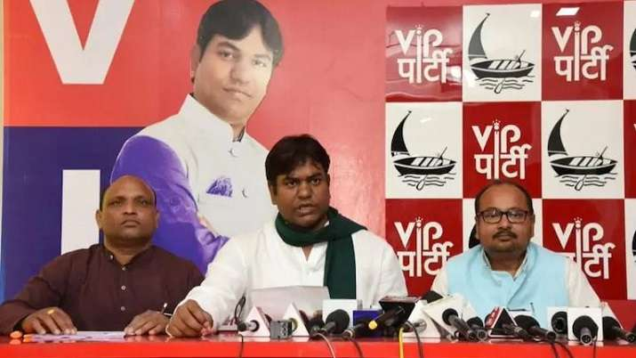 Vikassheel Insaan Party chief Mukesh Sahani