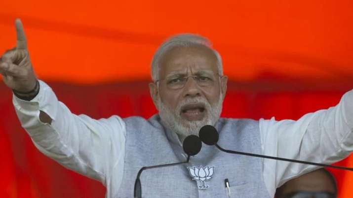PM Modi rakes up Ayodhya issue at election rally in