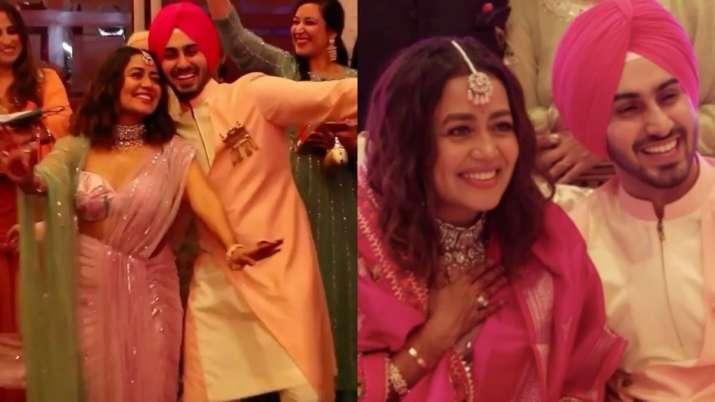 Neha Kakkar, Rohanpreet Singh's 'roka' video goes viral. Seen yet?