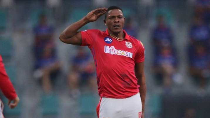 Kings XI Punjab pacer Sheldon Cottrell