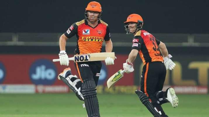 Really enjoy batting together: SRH captain David Warner on 160-run partnership with Jonny Bairstow vs KXIP | Cricket News – India TV