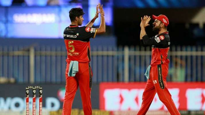 RCB's Washington Sundar