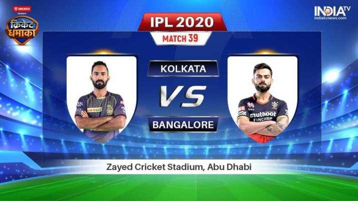 Live IPL Match KKR vs RCB Stream: Live Match How to watch IPL 2020 live on Hotstar, Star Sports