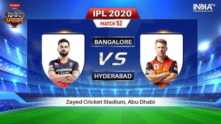 RCB vs SRH Stream: How to watch IPL 2020 live on Hotstar, Star Sports & JioTV
