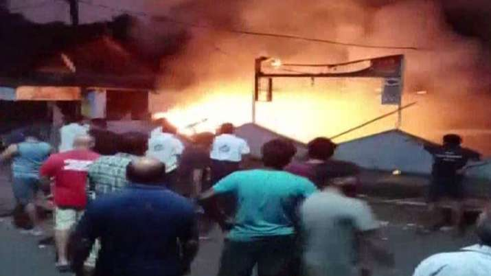Fire breaks out at factory in Palghar's Vasai area
