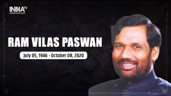 Ram Vilas Paswan, socialist and champion of downtrodden, dies at 74; condolences pour in