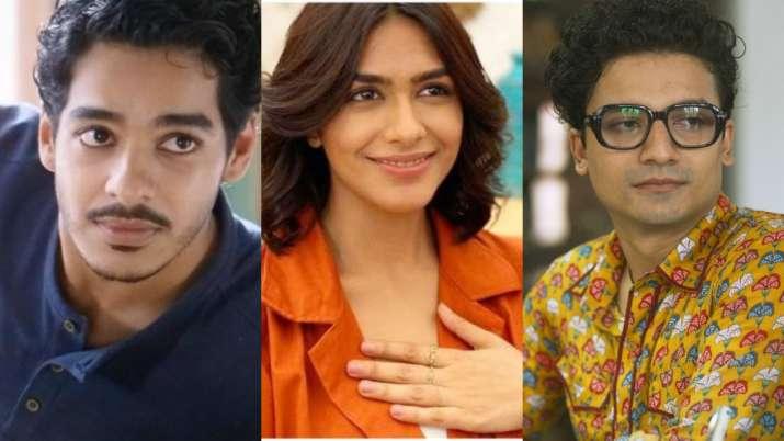 Ishaan Khatter's war drama 'Pippa' to feature Mrunal Thakur, Priyanshu Painyuli