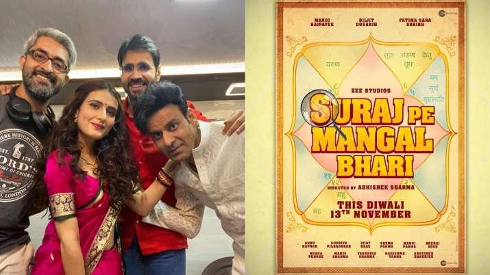 Manoj Bajpayee, Diljit Dosanjh's Suraj Pe Mangal Bhari to release this Diwali