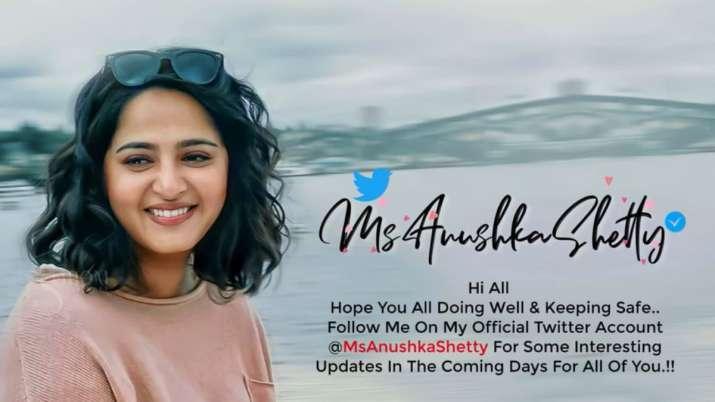 Baahubali actress Anushka Shetty joins Twitter. Netizens welcome Devasena with love