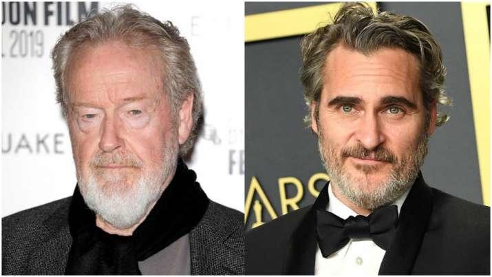 Ridley Scott, Joaquin Phoenix to reunite for Napoleon epic