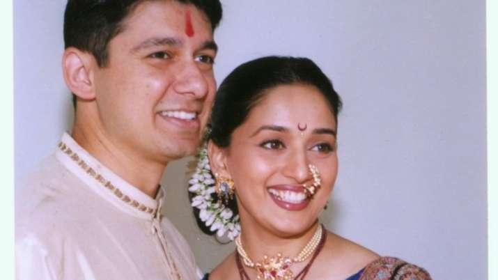 Madhuri Dixit, husband Sriram Nene share throwback photos on 21st wedding anniversary