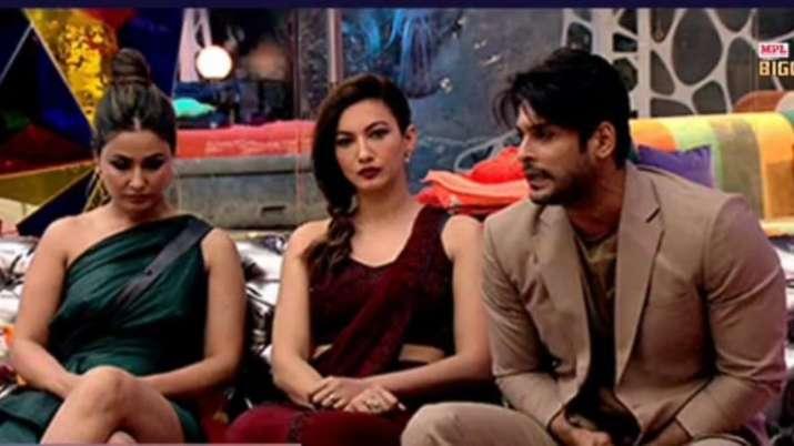 Gauahar Khan, Hina Khan, Sidharth Shukla, Bigg Boss 14