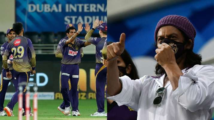 IPL 2020: Twitter hails KKR's young brigade after 37-run win over RR in SRK's presence