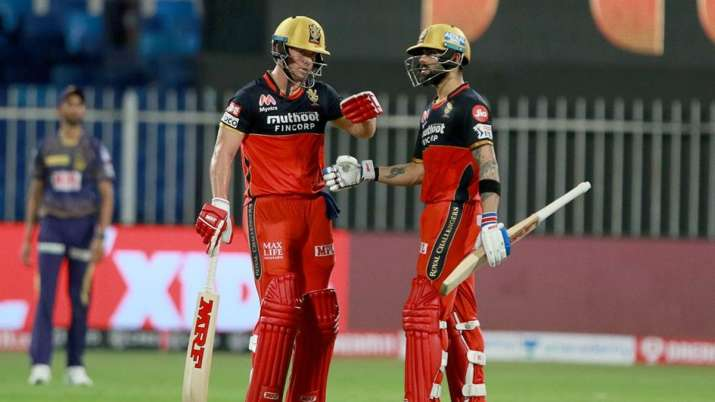 IPL 2020: AB de Villiers shines in RCB's massive 82-run win over KKR