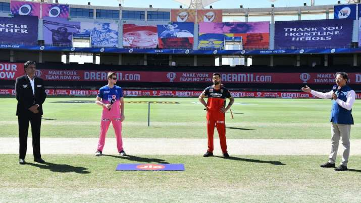 Live Score Rajasthan Royals vs Royal Challengers Bangalore IPL 2020: Smith opts to bat against RCB