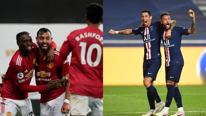 Live Streaming Champions League In India Psg Vs Manchester United Watch Psg Vs Man U Live Football Match Ucl Streaming Football News India Tv