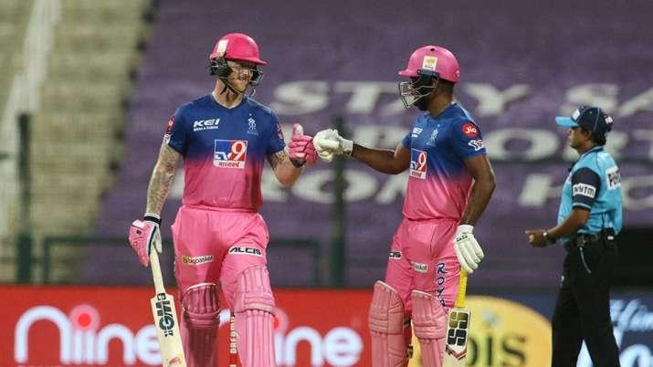Live Score Rajasthan Royals vs Mumbai Indians IPL 2020: Stokes, Samson take charge in tall chase