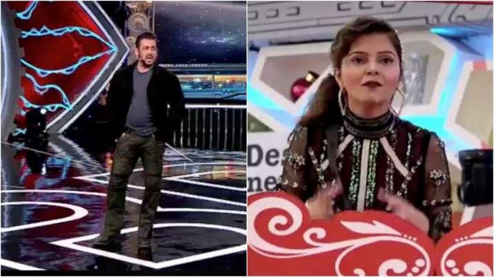 Salman Khan, Rubina Dilaik