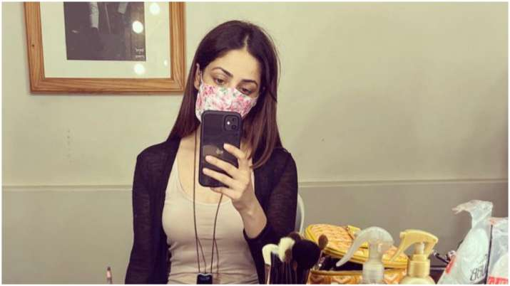 Yami Gautam starts prepping up for upcoming film Bhoot Police, shares pic