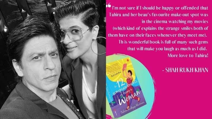 Tahira-Ayushmann's favourite make-out spot was cinema watching Shah Rukh Khan films