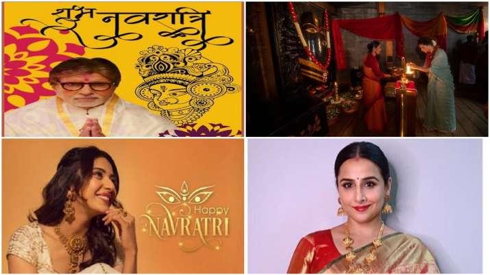 Navratri, Amitabh Bachchan, Rakul Preet, Kangana Ranaut, vidya Balan