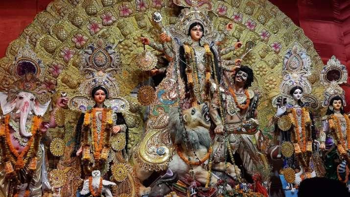 Goddess Durga, Durga puja