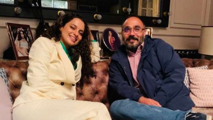 Kangana Ranaut hosts dinner evening for Tejas director Sarvesh Mewara