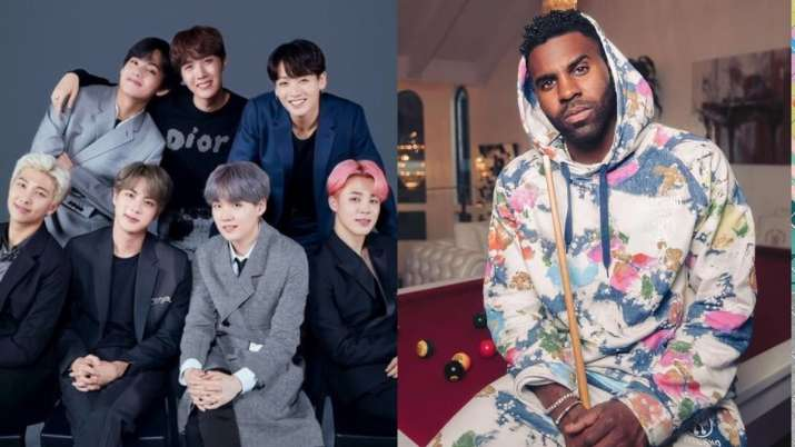 BTS Army slams Jason Derulo for excluding K-pop band in Savage Love remix success party post