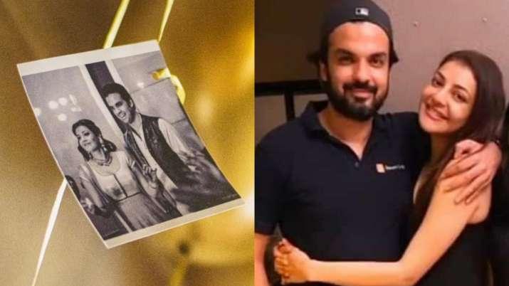 Kajal Aggarwal's fiance Gautam Kitchlu shares engagement picture