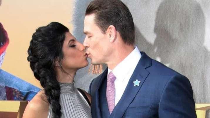 John cena gets married to lady love Shay Shariatzadeh in secret wedding
